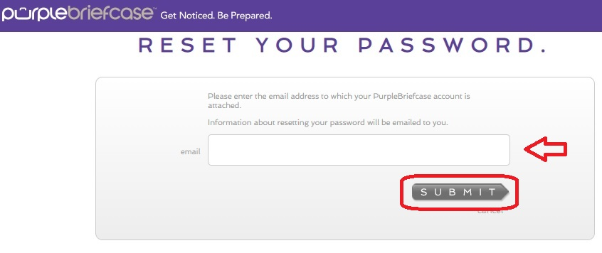 I forgot my password and I can't login to my account – Purple
